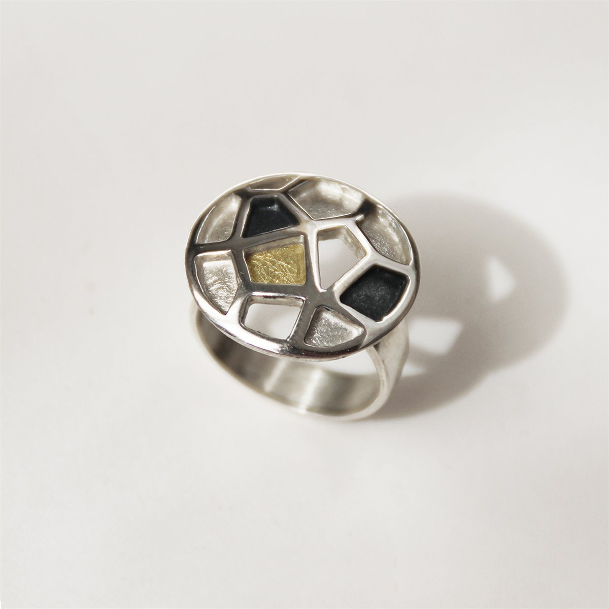 ANELL PLATA I OR. R1593