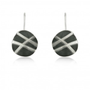 SILVER EARRINGS. E1356L