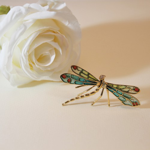 Dragonfly 02MF0005 Yellow Gold