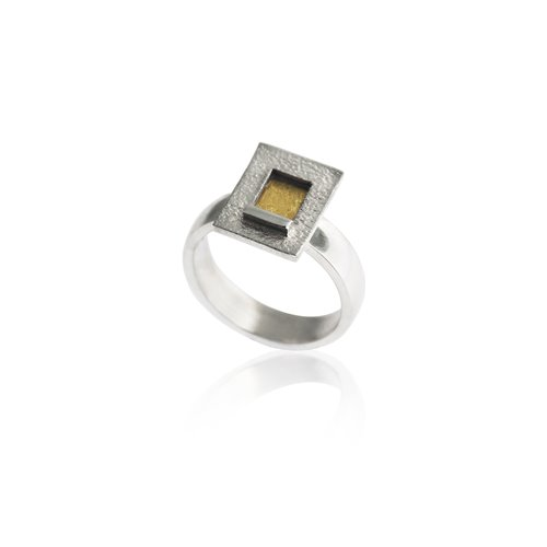 ANELL PLATA I OR. R1791